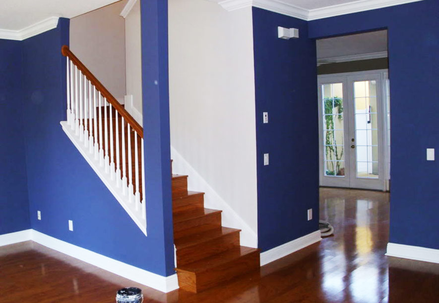 interior painting project in Denver